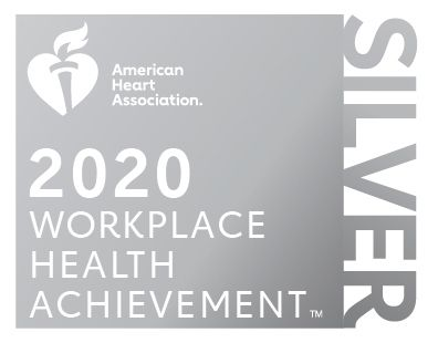 Picture showing the 2019 silver seal of achievement for health and wellness